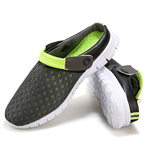 Mesh Convenient Casual Sandals Green Couples Boats Comfortable Autumn Lazy Out Unisex Breathable Hollow Shoes FALAIDUO vwUq8gAI