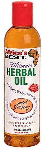 Africa s Best Ultimate Herbal Oil with Ginseng 12 oz Pack of 8