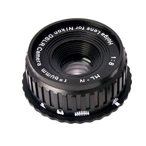 Holga 60mm f/8 Lens for Nikon DSLR (Black)