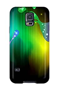 Galaxy S5 Case Cover Bright Splatter Case - Eco-friendly Packaging