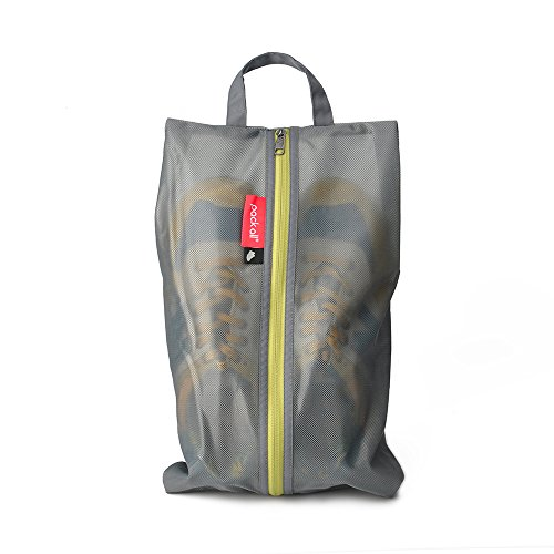 9e067bf000 pack all Water Resistant Travel Shoe Bags, Shoe Storage Organizer Shoe  Pouch with Zipper,