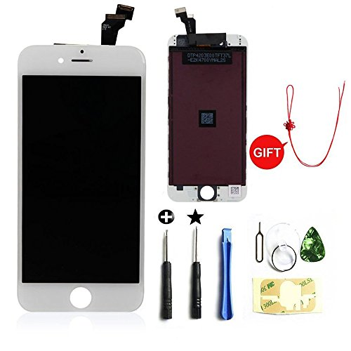 promo code 60cb5 36f2f Most Popular lcd iphone 6 white screen replacement on Amazon to Buy ...
