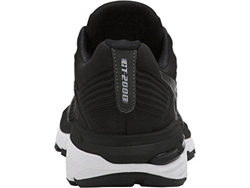 ASICS Women's GT-2000 6 Running Shoe, Black/White/Carbon, 5 M US by ASICS (Image #7)