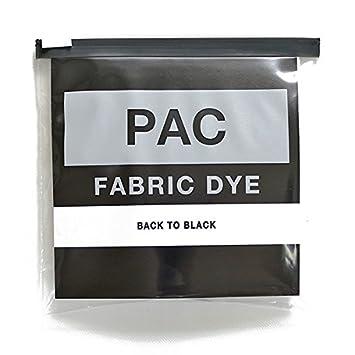 f83c19e8ee5f6 PAC FABRIC DYE 繊維用染料 col.12 バックトゥーブラック 染め直し用