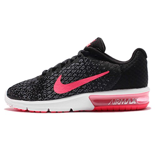 De Max Femme Noir Nike Running 2 Sequent Chaussures Wmns rose Air wBpxB7Y