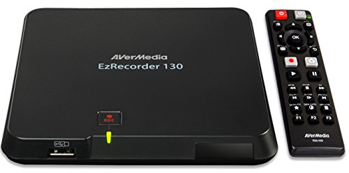 AVerMedia EzRecorder, HD Video Capture High Definition HDMI Recorder, PVR, DVR, Schedule Recording (ER130) by AVerMedia
