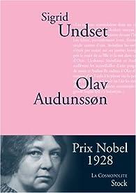 Olav Audunsson par Sigrid Undset