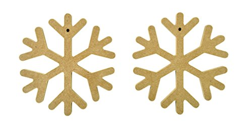 Kaisercraft Beyond The Page Mdf Snowflake Decorations ()