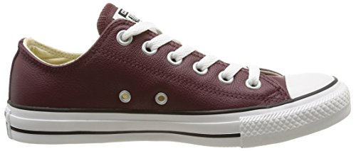 Converse Chuck Taylor All Star Læder Ox Dyb Bordeaux gM3m27Pz