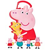 Peppa Pig Carry Case with 4 Figures