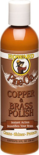 Howard CB0008 Pine-Ola Copper and Brass Polish, 8-Ounce (Copper Brass And)