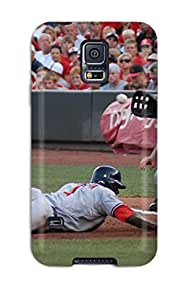 Hot cincinnati reds MLB Sports & Colleges best Samsung Galaxy S5 cases 7658065K194952729