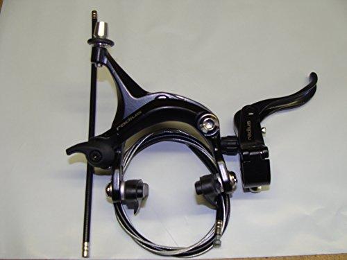 Rear Radius - New Radius Right Lever Rear Alloy Brake 4 Piece Set Fixie, Road Bike - Black