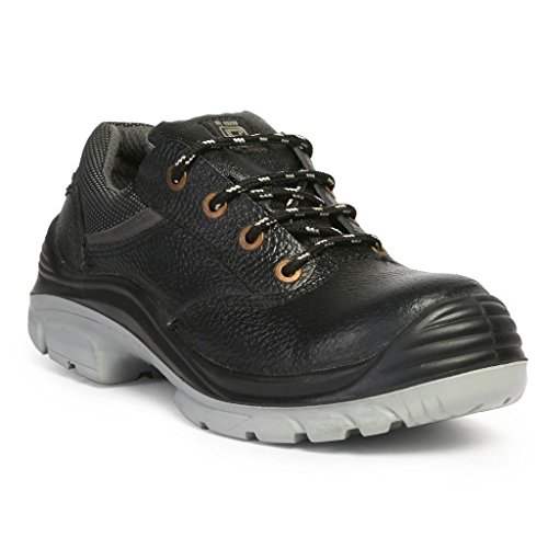 outlet online details for reliable quality Hillson Nucleus ISI Marked Safety Shoe, Size-8 UK, Black: Amazon ...