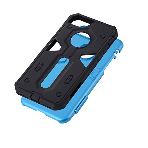 """HYAIT® For IPHONE 7 4.7"""" [CONTRAST TRIANGLE]Case Dual Layer Hybrid Armor Rugged Plastic Hard Shell Flexible TPU Bumper Protective Cover-SJAE07"""