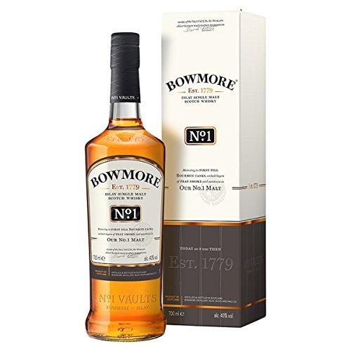 Bowmore No. 1 Islay Whisky escocés de 700 ml (Pack de 6 x 70cl ...
