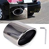 FidgetGear Stainless Steel Exhaust Tail Muffler TIP Pipe for Honda Accord 2.0 2.4 2008-2012