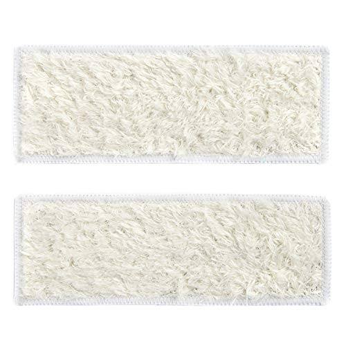shuangjishan 2-Pack Dry Sweeping Pads for iRobot Braava Jet 240 241 244, Washable & Reusable (Dry Pad)