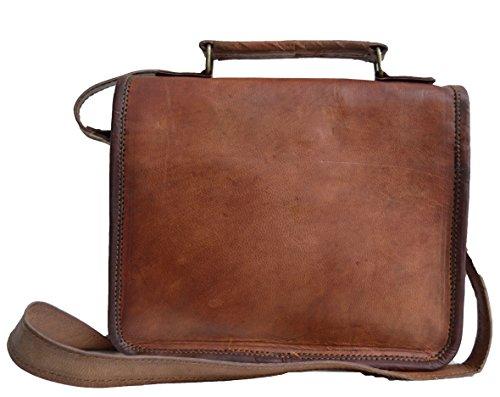 c61272c084 Jaald- Stylish Men s Genuine Distressed Leather Brown Shoulder ...