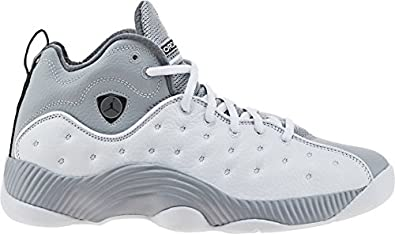 Air Jordan Jumpman Team 2 Mid Mens Lifestyle Shoe (White/Wolf Grey) Size