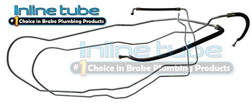 Inline Tube HHF0601-HHF0602 Compatible with 04-10 Cobalt Ion G5 Metal Main Return Vapor Fuel Gas Lines Kit Set Tubes OEM 2pc (74453 EW 0-8, 74454 EW-0-7)