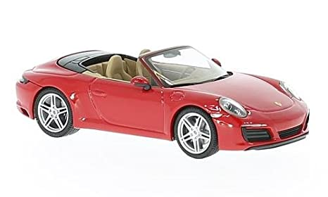 Porsche 911 Carrera 4 Convertible, red, 0, Model Car, Ready-made