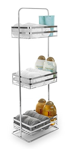 (BINO 'Lafayette' Chrome Spa Tower, 3-Tier)