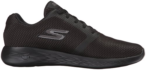 Run Sportive Refine 600 Scarpe Black Skechers Nero Indoor Uomo Go Unq5x1F