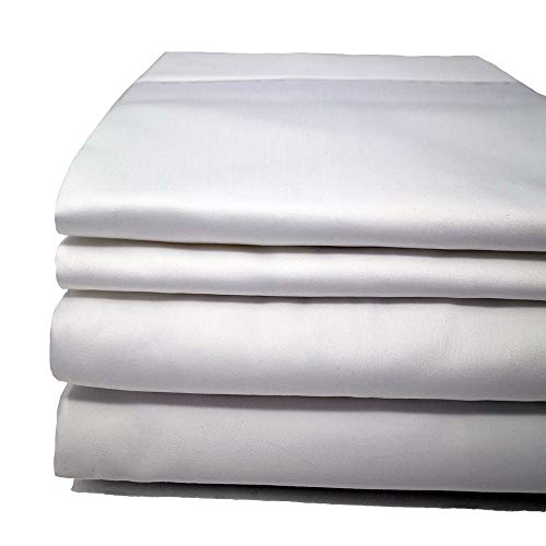 Cinchfit Usa Made Maine Made Sheets The Only Stay On And No Tear Design Split Flex Top King No Tear Adjustable Bed Sheet Set 600 Thread Count 4pc 100 Cotton White Split Flex Top King