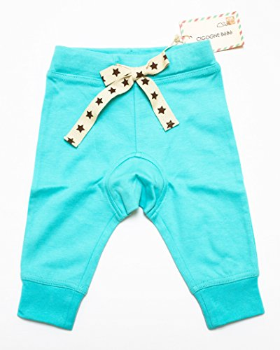 Cigogne BeBe Star Knit Pant Blue 12~18 Month