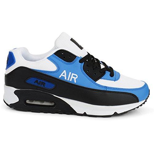 Laufschuhe blau Herren Shoes Click weiß vqIPEaw