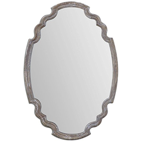 Uttermost 14483 Ludovica Aged Wood Mirror from Uttermost