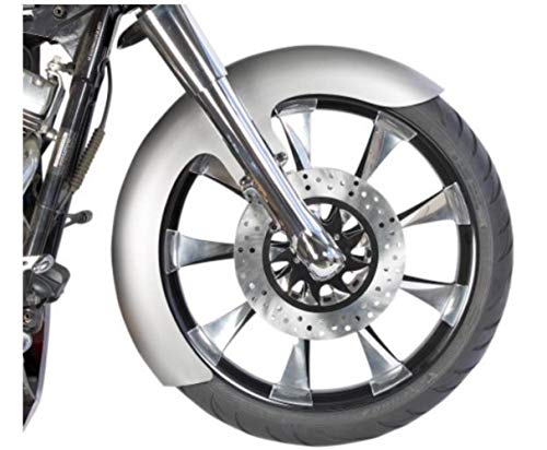 Russ Wernimont Designs OCF Style Custom Dresser Front Fender - 5-1/2in. Wide for 21in. Wheels - Rwd Front Fender
