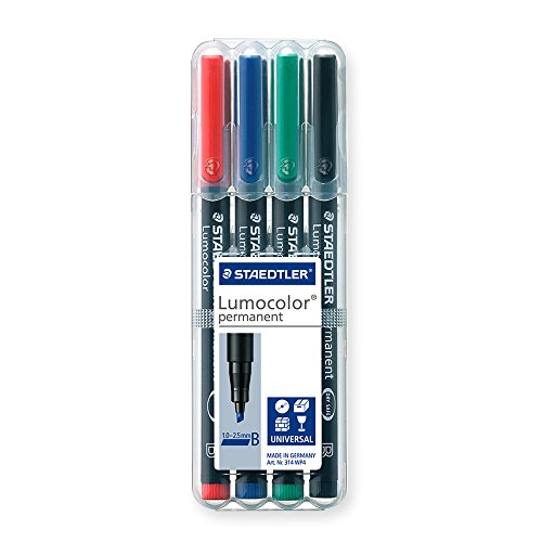 Staedtler Universal pen Lumocolor B 4 Pieces (314 WP4)