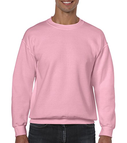 Gildan: Heavy Blend�?Crewneck Sweat 18000, Größe:XL;Farbe:Light Pink