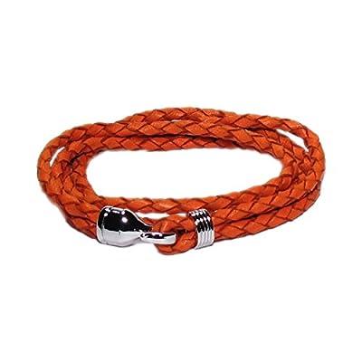 AUTHENTIC HANDMADE Leather Bracelet, Men Women Wristbands Braided Bangle Craft Multi [SKU003125]