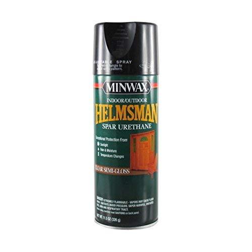 Minwax 33260000 Helmsman Spar Urethane Aerosol, 11.5 ounce, Semi-Gloss