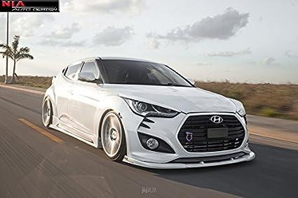 Hyundai Veloster Front NIA splitter lip.