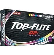 2016 Top Flite D2+ Diva Neon (15 pack)