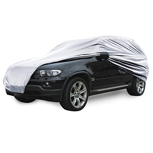 BDK SUV Van Cover for MITSUBISHI Outlander, Sun UV Dust Wind Proof