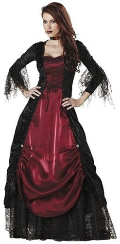 Gothic Vampire Dress (InCharacter Costumes Women's Gothic Vampiress Costume - Size Small)