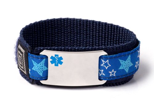 idtagsonline Customized Sport Medical Alert ID Bracelet f...