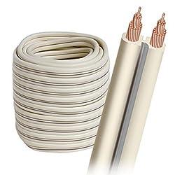 Audioquest G-2 Bulk Speaker Cable - 16 Awg 50' (15.24m) Spool - White Jacket