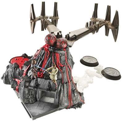 Amazon Com Star Wars Mustafar Final Duel Play Set Revenge Of The Sith Toys Games