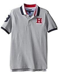 Tommy Hilfiger Boys' Short Sleeve Solid Matt Polo Shirt