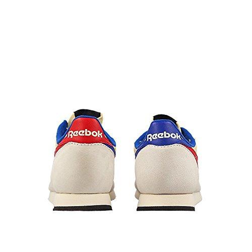 Reebok - London TC - Color: Beige-Bianco-Rosso - Size: 40.0