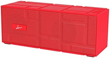 Digital Treasures 9867 Lyrix Remixx Bluetooth Speaker – Red