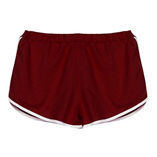 Price comparison product image Hot Yoga Shorts! AMA(TM) Women Summer Sports Gym Yoga Shorts Workout Waistband Fitness Athletic Short Pants (XL