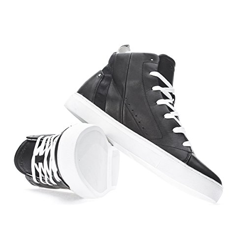 Crime London Sneakers Alte Nere Pelle