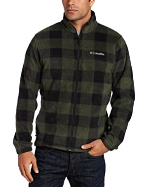 Men's Big Printed Steens Mountain Fleece Jacket